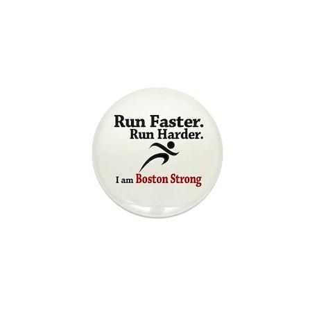 Run Faster Run Harder Mini Button (100 pack)