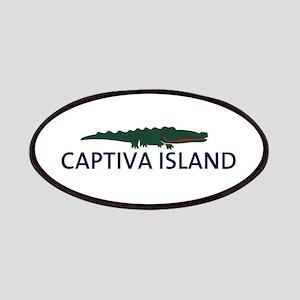 Captiva Island - Alligator Design. Patches