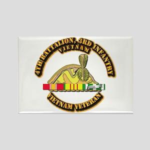 Army - 4th Battalion, 3rd Infantry w SVC Ribbons R