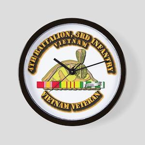 Army - 4th Battalion, 3rd Infantry w SVC Ribbons W