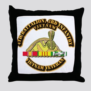 Army - 4th Battalion, 3rd Infantry w SVC Ribbons T