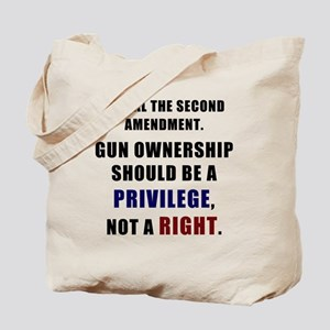 Repeal the second amendment Tote Bag