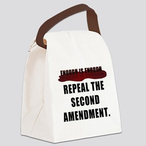 Repeal the second amendment Canvas Lunch Bag