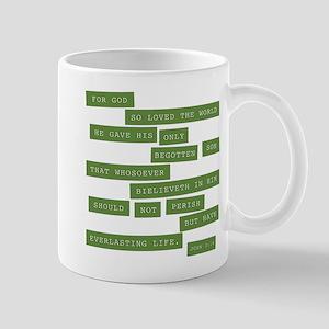 John 3:16 - Classic Green Mug