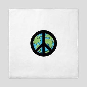 World Peace Queen Duvet