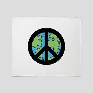 World Peace Throw Blanket