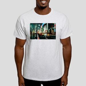 New york street at night T-Shirt