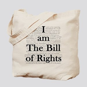 I am The Bill of Rights Tote Bag