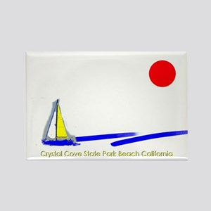 Crystal Cove Park Rectangle Magnet