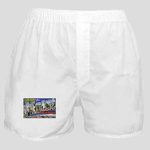 Fresno California Greetings Boxer Shorts