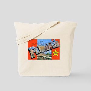 Fort Worth Texas Greetings Tote Bag