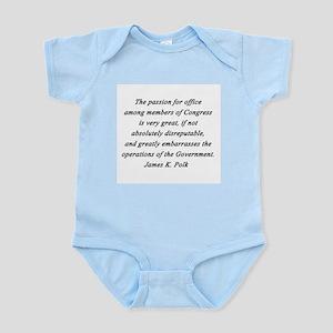 Polk - Passion for Office Infant Bodysuit