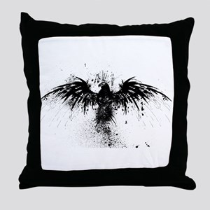 The Freedom Eagle Throw Pillow