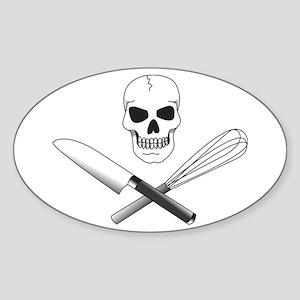 Skull Cook Sticker