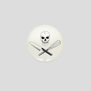 Skull Cook Mini Button