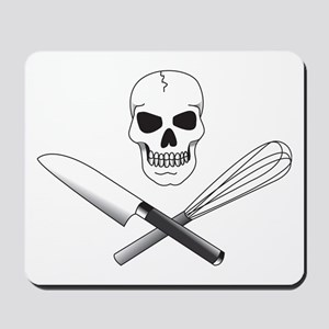 Skull Cook Mousepad