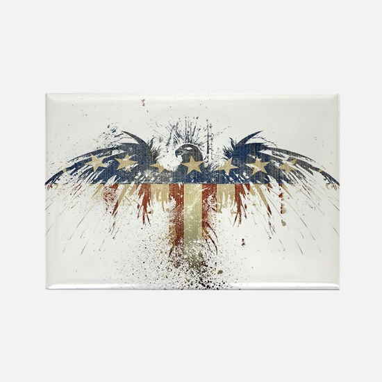 The Freedom Eagle, Full Color Rectangle Magnet