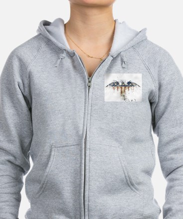 The Freedom Eagle, Full Color Zip Hoodie