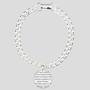 Polk - Members of Congress Charm Bracelet, One Cha