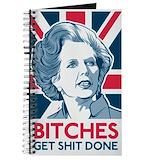 Margaret thatcher Journals & Spiral Notebooks