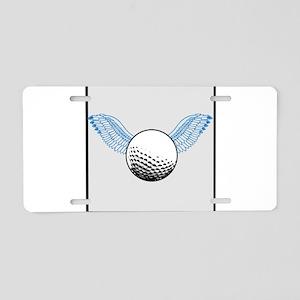 When Golf Balls Fly Aluminum License Plate