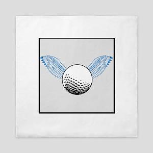 When Golf Balls Fly Queen Duvet