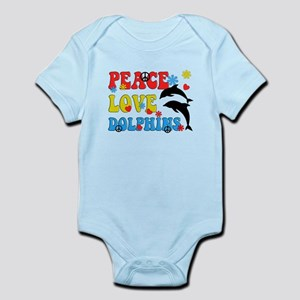PEACE LOVE DOLPHINS Body Suit