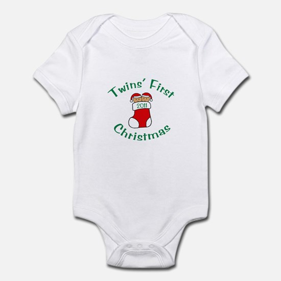 Twins First Stocking Infant Bodysuit