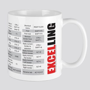 Excelling Keyboard Shortcuts Mug Mugs