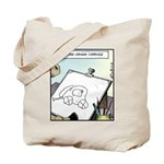 A Horse-drawn Carriage Tote Bag