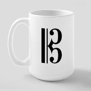 C Clef Large Mug
