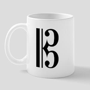 C Clef Mug
