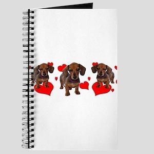 Dachshund Dachsie Puppies Journal