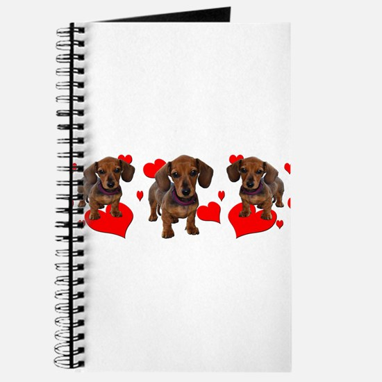 Dachshund Dachsie Puppies Journal