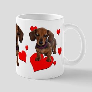 Dachshund Dachsie Puppies Mug