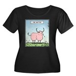 The Buttox Plus Size T-Shirt
