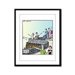 Lovers point Framed Panel Print