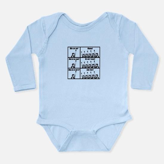 Demanding Women Long Sleeve Infant Bodysuit