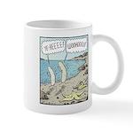 Bananas Skinny-dipping Mug