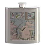 Coin slot Tattoo Flask