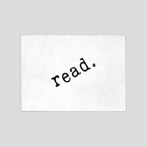 Read. 5'x7'area Rug
