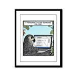 Searching for Prey Framed Panel Print