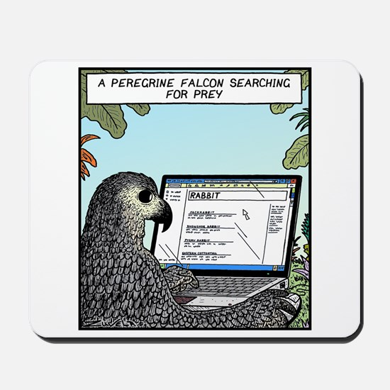Searching for Prey Mousepad