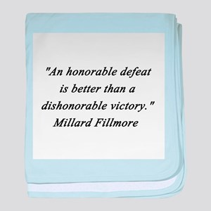 Fillmore - Honorable Defeat baby blanket