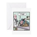Hurts when i do this Greeting Cards (Pk of 20)