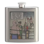 Come out swinging Flask