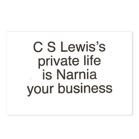 Narnia your business Postcards (Package of 8)