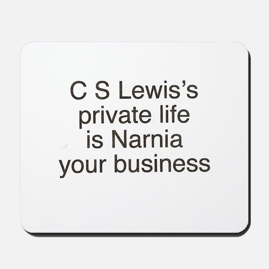 Narnia your business Mousepad