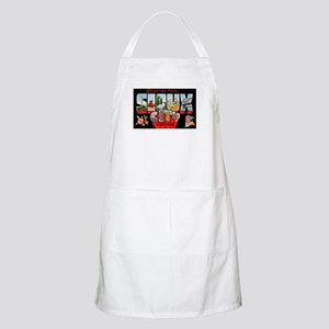 Sioux City Iowa Greetings BBQ Apron