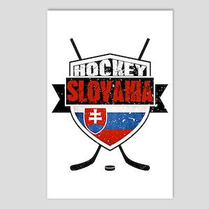 Hokej Slovensko Hockey Shield Postcards (Package o
